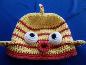 SMOOTCHES! Kissy Fish Hat crochet pattern by Darleen Hopkins