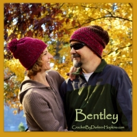 Bentley Crocheted Hat Pattern by Darleen Hopkins