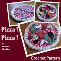 Pizza Hat Pad