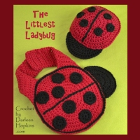 Littlest Ladybug Crochet by Darleen Hopkins square