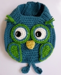 Owl Drool Bib