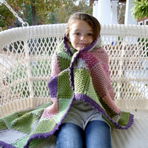 Heart Throw Blanket crochet pattern by Darleen Hopkins