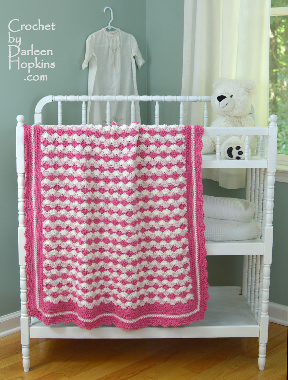 Shells of Love crochet pattern by Darleen Hopkins #CbyDH