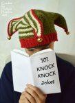 Court Jester, Elf, Joker, Clown, Fool crochet hat pattern by Darleen Hopkins #CbyDH
