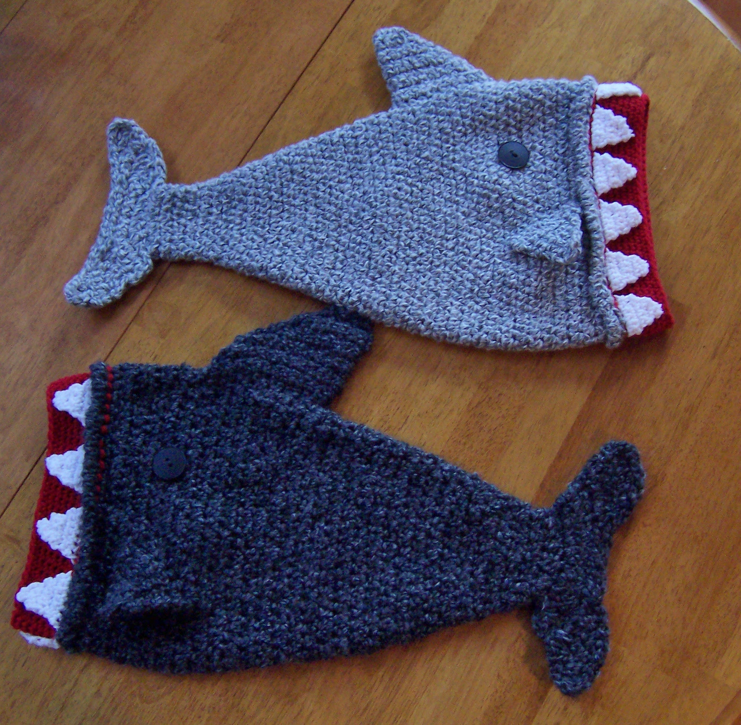 Crocheting Help : It?s Shark Week-Crochet a Shark and Help Halos of Hope Crochet By ...