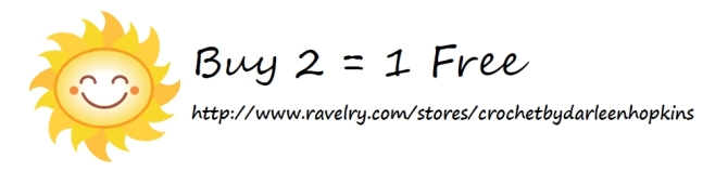 Buy 2 Get 1 Free on Ravelry
