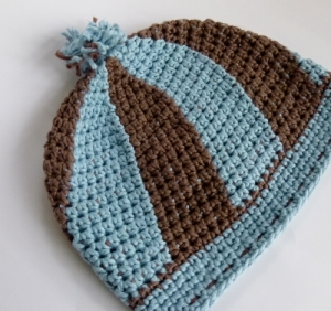 Swirl Hat for Halos of Hope by Darleen Hopkins
