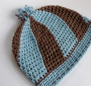 Swirl Hat for Halos of Hope by Darleen Hopkins