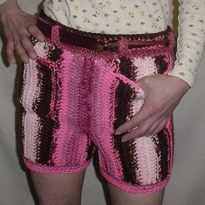 Men In Crocheted Pants Crochet By Darleen Hopkins