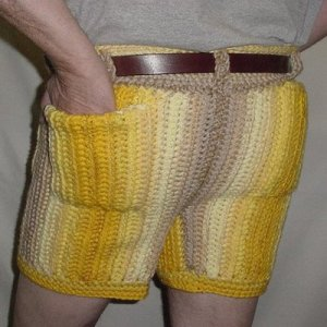 Men In Crocheted Pants Crochet By Darleen Hopkins
