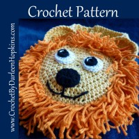 Lion Bib crochet pattern by Darleen Hopkins