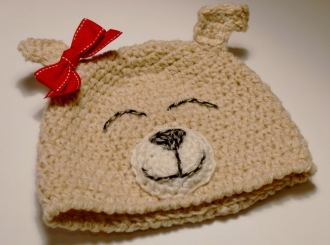 Puppy Hat crochet pattern by Darleen Hopkins
