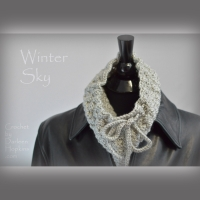 Winter Sky Cowl crochet pattern by Darleen Hopkins square