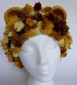 Lion hat for Halos of Hope