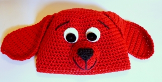 Clifford Chemo Hat crocheted by Darleen Hopkins