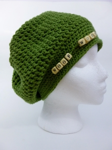 Dog Themed Charity Chemo Hat by Darleen Hopkins