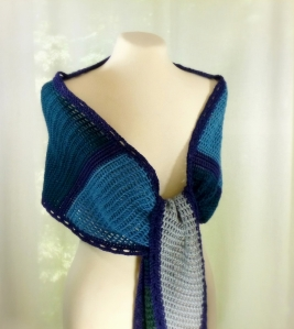 Charmed Shawl Crochet Pattern http://www.ravelry.com/patterns/library/charmed-shawlette-shawl-wrap-crochet