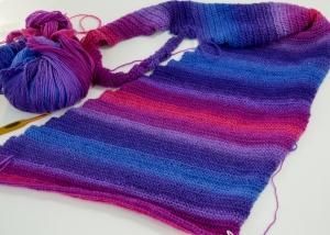 Whispers in Knit Picks Chroma, in processhttp://www.ravelry.com/patterns/library/whispers-shawl-shawlette-or-scarf