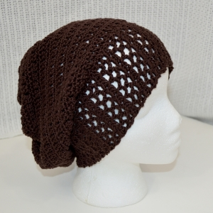 Gift-a-long hat, La Villa Lace Brim Slouch Hat for Halos of Hope
