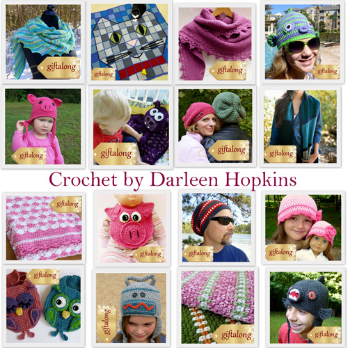 Crochet by Darleen Hopkins http://www.ravelry.com/bundles/3358  #giftalong2014