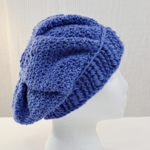 Winter Tracks crochet hat pattern by Sarah Jane