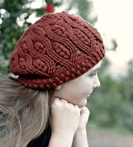 Frostberry Hat crochet pattern by Sarah Jane