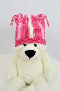 Hat for Halos for Hope, crocheted by Darleen Hopkins