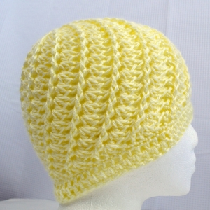 Divine Hat for Halos of Hope, crocheted by Darleen Hopkins