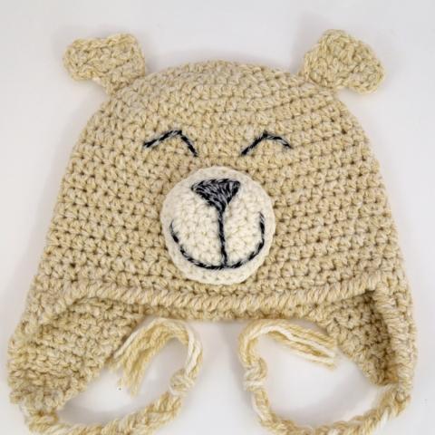 Happy Puppy Hat, crochet pattern by Darleen Hopkins