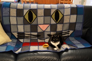Patchwork Kitty Blanket