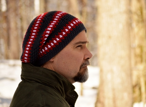 Cubed Hat Crochet Pattern by Darleen Hopkins