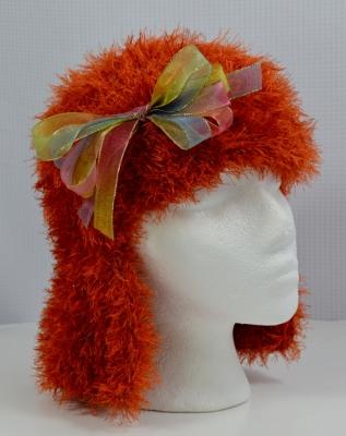 Fun fur crochet hat for donation  https://crochetbydarleenhopkins.com/category/2015-chemo-hat-challenge/
