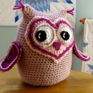 Owl Always Love You crochet amigurumi pattern by Darleen Hopkins