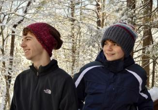 Bentley and Glacier Crochet Hat Paterns