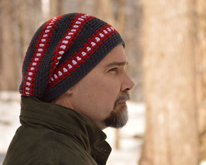 Cubed Slouch Hat Crochet Pattern by Darleen Hopkins