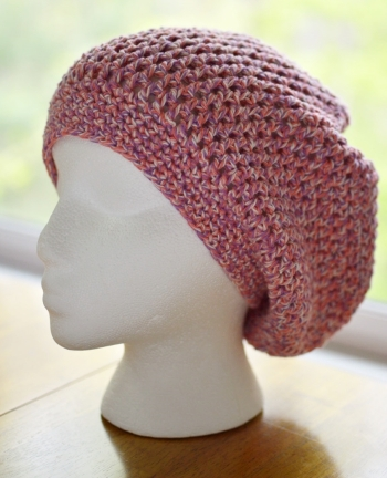 Big Kahuna crochet pattern by Darleen Hopkins.  Made for Halos of Hoe chemo hat donation