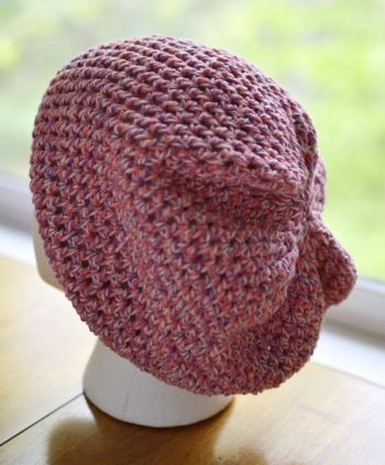 Halos of Hope chemo hat for donation, Big Kahuna crochet pattern