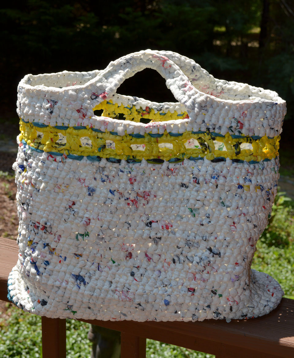 eco crafting reduce reuse recycle crochet by darleen hopkins