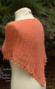 Moxie crocheted shawl pattern by Darleen Hopkins #CbyDH
