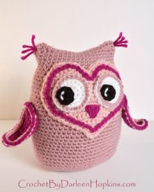 Owl Always Love You amigurumi crochet pattern by Darleen Hopkins #CbyDH