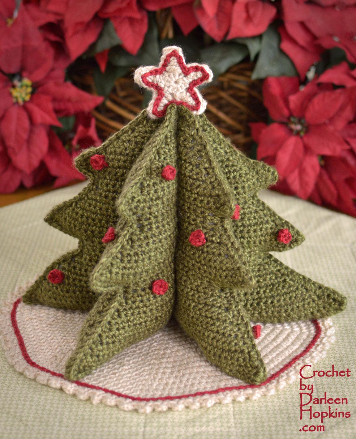 Christmas Tree Centerpiece | Crochet By Darleen Hopkins