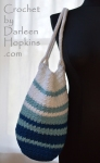 Modern Tote, a crochet pattern by Darleen Hopkins