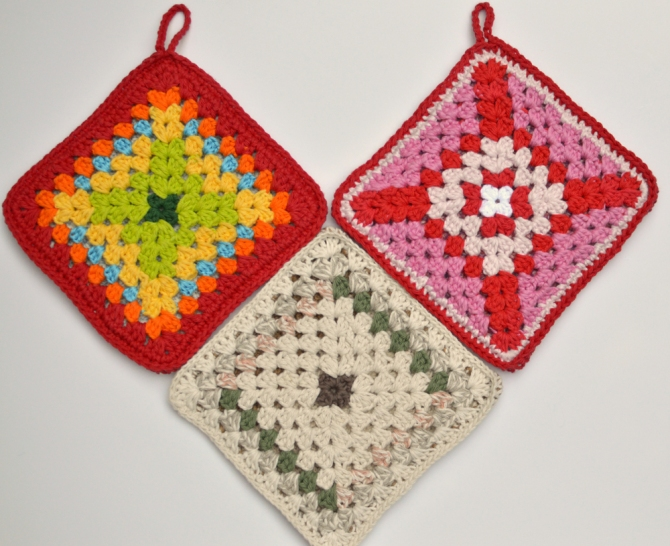 crochet Pot holder swap