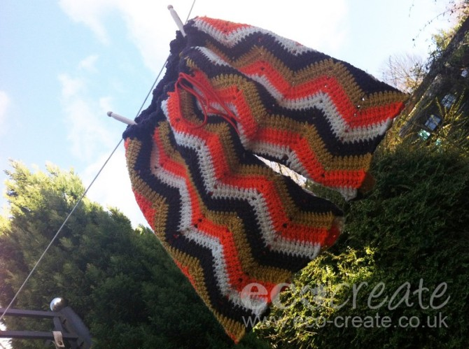 crocheted shorts by eco-create