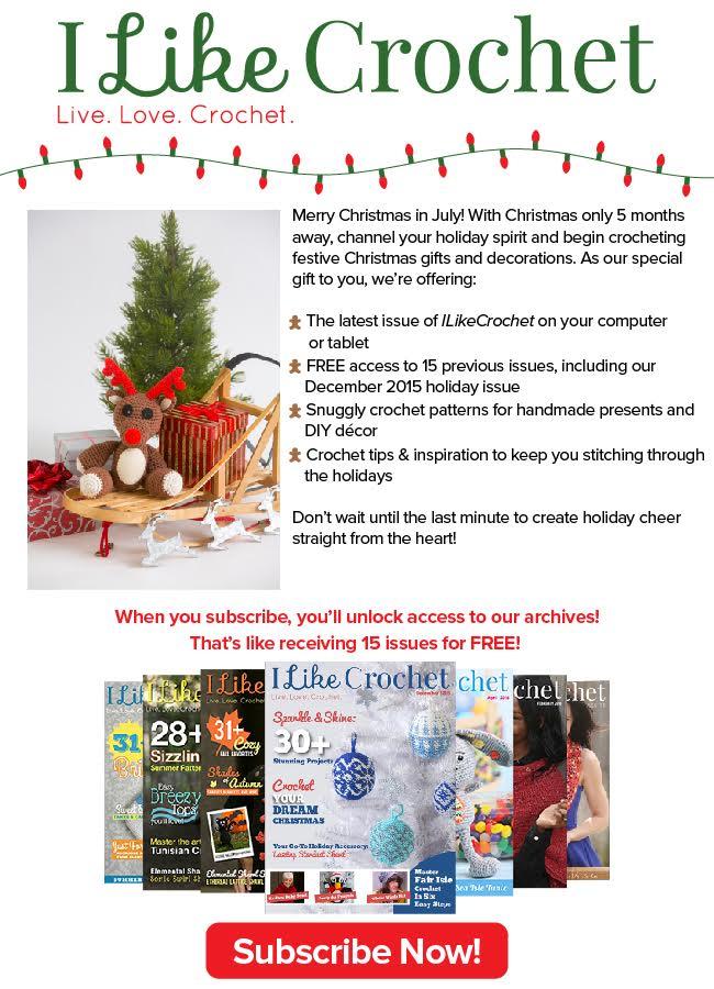 Christmas in July Sale, I Like Crochet.com