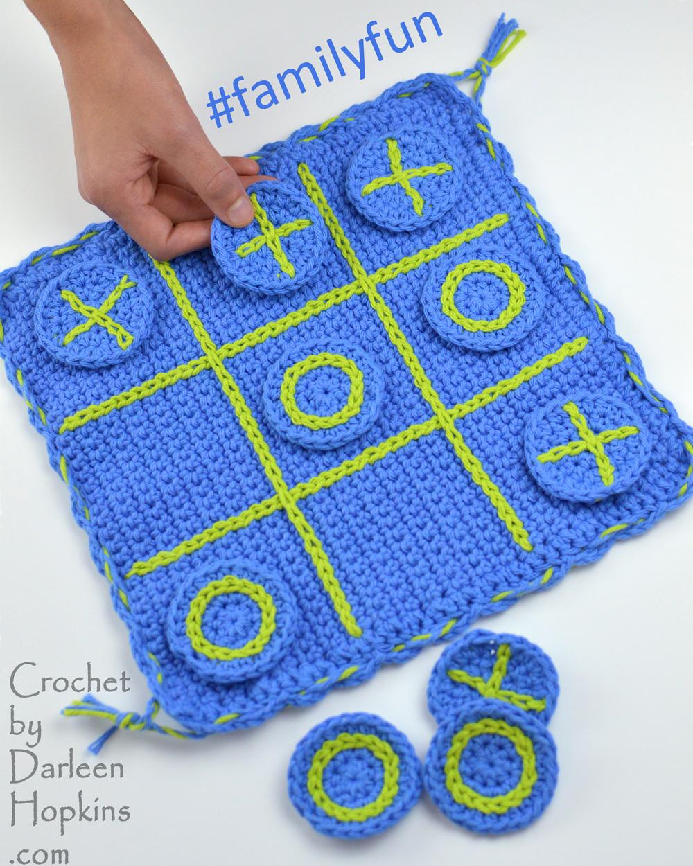 Game Family Fun Game Board Crochet By Darleen Hopkins