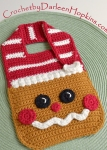 Gingerbread Bib