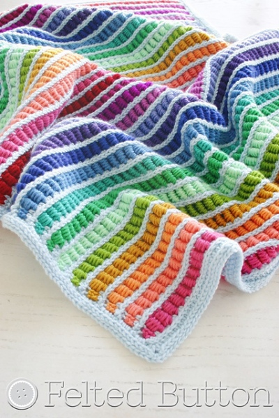 Abacus Blanket crochet pattern by Susan Carlson
