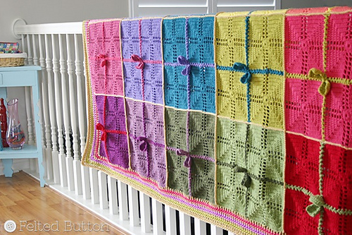 Gifted Blanket crochet pattern by Susan Carlson
