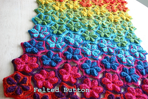 Star Fruit Blanket or Rug by Susan Carlson